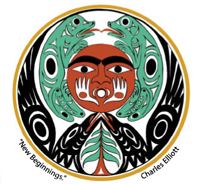 Indigenous symbol of new beginning by Charles Elliot